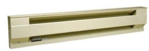 Cadet 8F2000-8A Baseboard Heater, 8 Ft. 2000W 208V Electric - Almond (Cadet 2000 Watt Baseboard Heater compare prices)