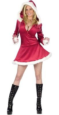 Hooded Mrs. Santa Sexy Costume
