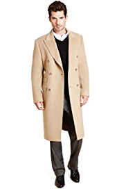 Collezione Pure Cashmere Double Breasted Coat