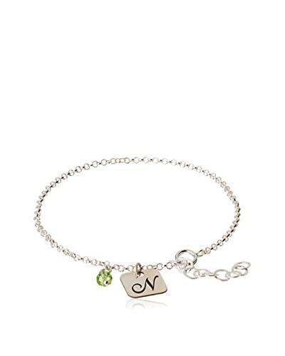 Silver One Pulsera Charms N