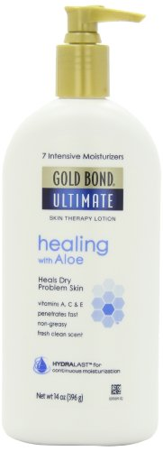 Gold Bond Ultimate Healing Skin Therapy Lotion for Dry Skin, Aloe