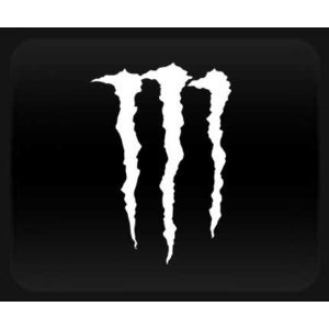 Coloring Sheets on Monster Energy Drink Car  Truck Notebook  White Vinyl Sticker Decal