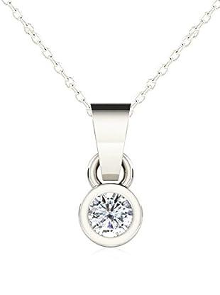 Friendly Diamonds Conjunto de cadena y colgante FDP6242W Oro Blanco