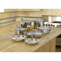 Cuisinart® Stainless Steel Cookware Set - 14 pc.