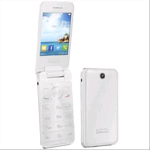 Alcatel OT 20-12G Telefono Cellulare, 16 MB, Marchio TIM, Pure Bianco