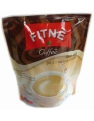 Fitne Diet Instant Coffee Plus Collagen Shape Slimming Weight Control 150 G. Made In Thailand ( By Abobon )Best Sellers