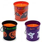 Halloween Scented Bucket Candle (9cms) Assorted