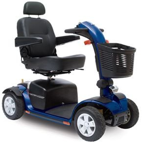 Victory Sport 4-Wheel Fast Power Electric Scooter Pride Mobility Sc710 Dxw + Free Accessories