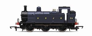 Hornby R2882 RailRoad S & DJR 0-6-0T Class 3F 00 Gauge Steam Locomotive