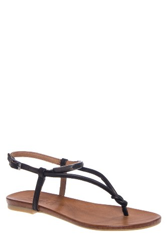 Bengal Ankle Strap Flat Thong Sandal