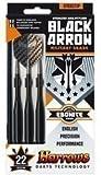 HARROWS Black Arrow Brass Steel Tip Darts 26g
