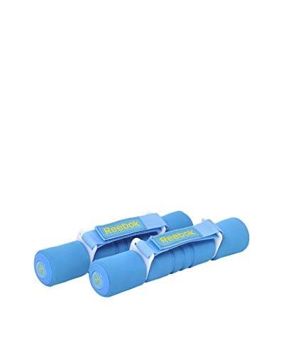 Reebok Mancuerna De Neopreno 2 Kg Azul