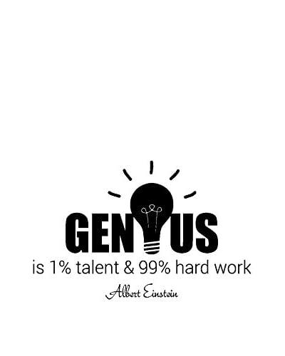 ZZ-Ambiance-sticker Vinilo Decorativo What Is Genius For Albert Einstein Wall Decal