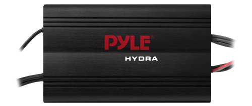 Pyle PLMRMP3B 800W 4-Channel Waterproof Micro Marine Amplifier Amp Stereo