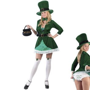 Woman's Leprechaun Costume