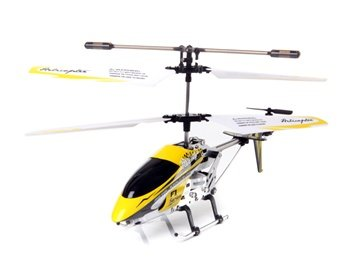 F1 Series 3.5-Channel Mini I/R Helicopter with Built-in Gyroscope (Yellow) + Worldwide free shiping