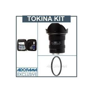 Tokina 11mm - 16mm F/2.8 ATX Pro DX Af Canon EOS Digital Mount Lens Kit,