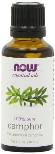 NOW Foods Camphor Oil, 1 ounce (Pack of 2)