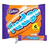 Cadbury Fudge Chocolate Bar 6 Pack