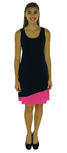 Jessica Howard Sleeveless Scoop Asymmetrical Dress