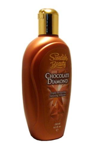 Swedish Beauty CHOCOLATE DIAMOND Triple Bronzing Tanning System 8.5 oz.