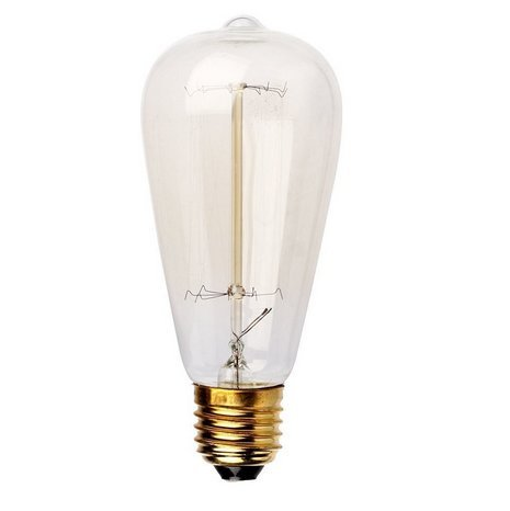 Edison Bulb Nalakuvara 60w Filament Long Life Vintage Antique Style Incandescent Clear Glass