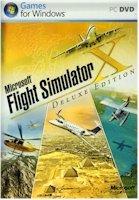 High Quality Microsoft Microsoft Flight Sim X Deluxe Dvd Rom Games Simulation Pc Software Windows Xp Vista