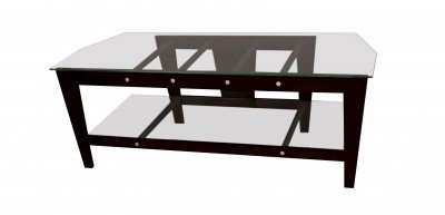 "Cheap Plateau TLX-2V (50)"" – TLX Series 50″ wide TV Stand ( Espresso w/ Clear Glass Only) (TLX2V50E)"