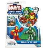 Super Hero Adventure 2 Pack Iron Man & Dr. Doom