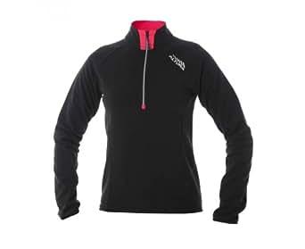 ALTURA Ladies Fleece Long Sleeve Jersey 2013, Black, 16