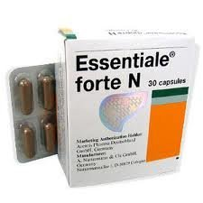 A. Nattermann & Cie GmbH (Germany) ESSENTIALE Ã'® forte 120 Kapseln - Leberschutz - 100% natürliche und ohne Nebenwirkungen Ergänzung - 4x30 Kapseln by A. Nattermann & Cie GmbH (Germany)
