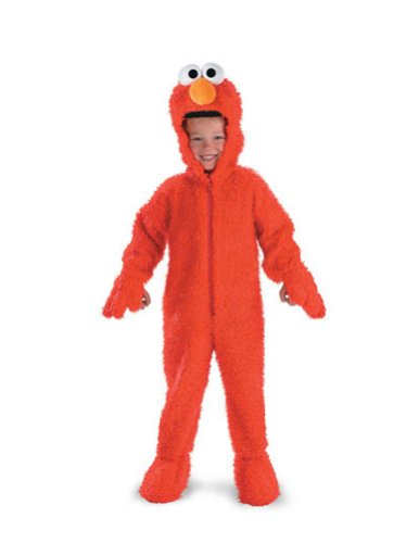 Baby-boys - Elmo Deluxe Plush Toddler Costume 2T Halloween Costume