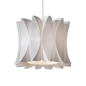 Contemporary White Designer Ceiling Pendant Light Shade