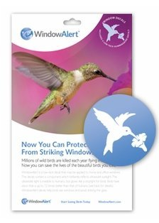 Window Alert Hummingbird Decals
