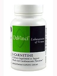Davinci Labs - L-Carnitine 250 mg 60 vcaps