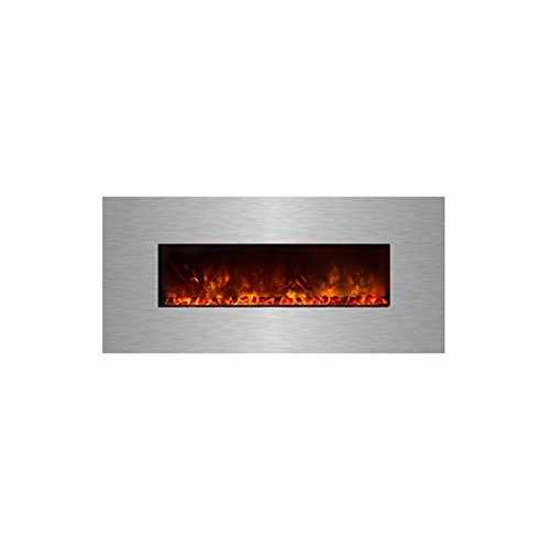 Modern Flames CLX Series Wall Mount/Built-in Electric Fireplace with Stainless Steel Front, 60-Inch (Modern Flame Fireplace compare prices)