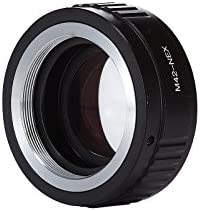 Meking Adjustable Aperture Focal Reducer Speed Booster Adapter M42 Lens to Sony A7r NEX6753