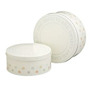 Kitchen Craft Classic Collection 27cm and 23cm Cake Tin Set