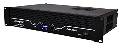 Pyle-Pro PQA2100 19'' Rack Mount 2100 Watts Professional Power Amplifier from Sound Around