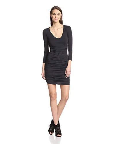 Velvet by Graham & Spencer Women's Shirred Dress