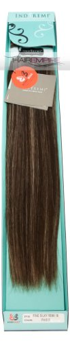Bobbi-Boss-Indi-Remi-Human-Hair-Extension-Weave-18-Silky-4613-Medium-Dark-Brown-Platinum-Blonde