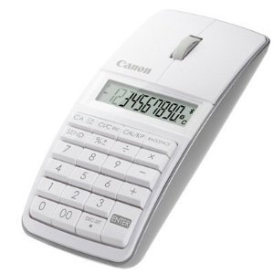 【並行輸入品】Canon 5565B002 X Mark I Mouse Slim Computer Link Calculator (White)