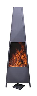 Gardeco Copan-143 Copan Xl Fireplace - Black by Gardeco