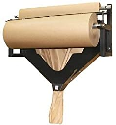 Kraft Paper Dispenser with Deluxe Brake & Crumpler Horizontal Table Top and Wall Mountable