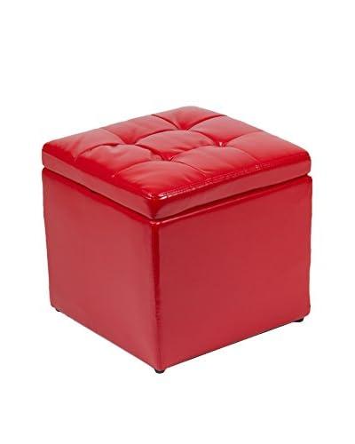 Eigentijdse stijl kruk met opslag rot