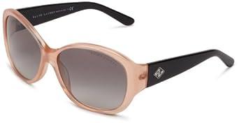 Ralph Lauren Womens 0RL8091 533311 Butterfly Sunglasses,Blush,60 mm