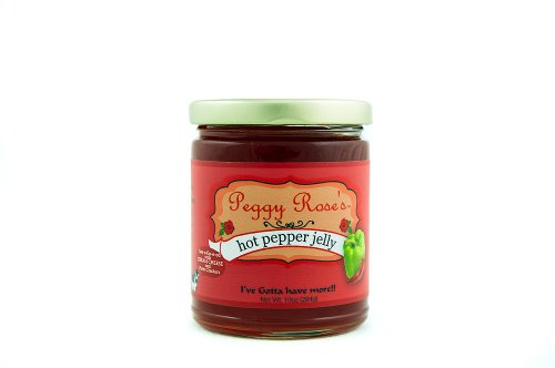 Peggy Rose's Pepper Jelly (Hot, 10 oz)