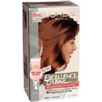 L'Oreal Paris Excellence Crème with Pro-Keratine Complex, Medium Reddish Blonde 8RB