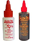 Salon Pro Hair Bonding Glue 1oz. For the perfect hold in hair bonding 1oz. For the perfect hold in hair bonding
