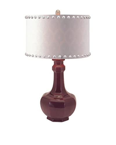 Essentials Irresistible Ceramic Table Lamp, Purple As You See